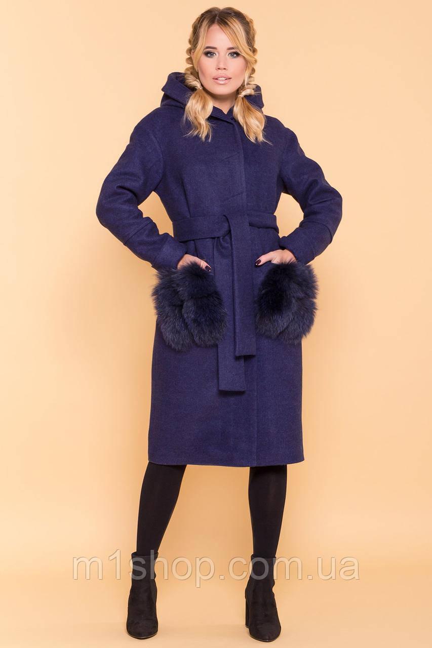 зимнее пальто женское Modus Анита 4120
