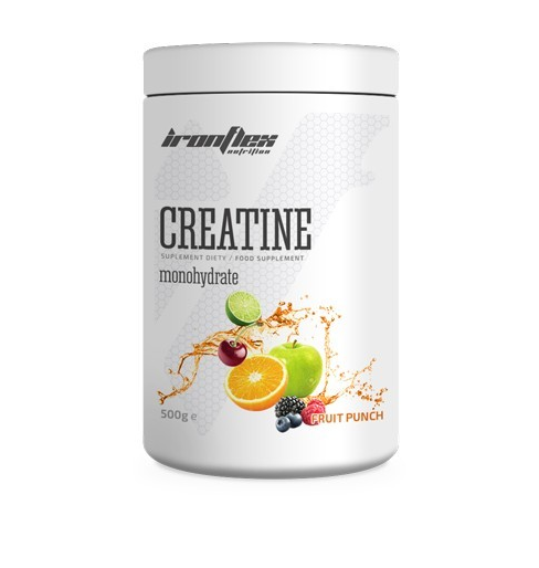 Креатин IronFlex - Creatine (500 грамм) fruit punch/фруктовый пунш