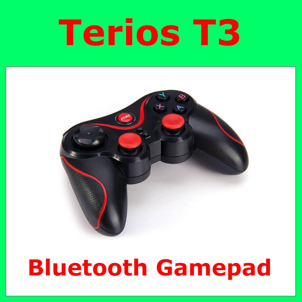 Terios Bluetooth Gamepad Android T3 With Lion Bat Pqsp Selection