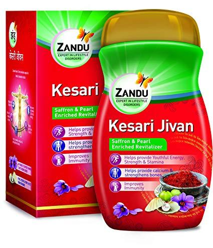 Чаванпраш Кесари Дживан повышает иммунитет и помогает поддерживать организм молодым и здоровым, 450 г