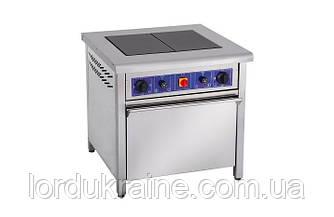 Плита электрическая профессиональная с духовкой ПЕД-2 Кий-В