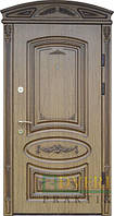 Двери уличные, модель 86 Премиум 970*2050, металл 2 мм, коробка 150 мм, накладки 16мм, MOTTURA, патина