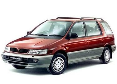 Лобовое стекло на Mitsubishi Space Wagon (Минивэн) (1991-1997), Hyundai Santamo (Минивэн) (1997-2003)