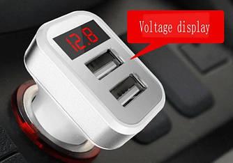 АЗУ с индикатором напряжения и тока (2 USB 5V 3.4)