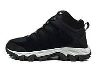 Черные зимние мужские ботинки COLUMBIA BUXTON PEAK MID WATERPROOF ( ОРИГИНАЛ ), фото 1