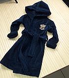 Дитячий махровий халат з іменною вишивкою, фото 8