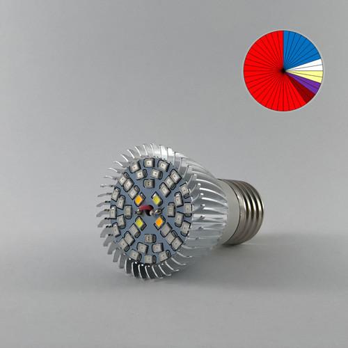 Фито лампа светодиодная  E27 (Мультиспектр)