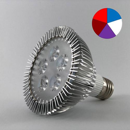 Лампа для цветов 15W E27 (Мультиспектр)