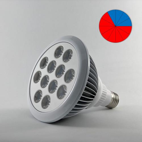 Фитолампа светодиодная 36W E27 (Биколор - 8:4)