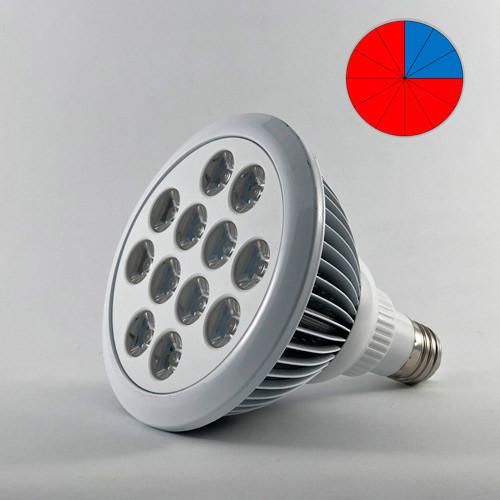 Фитолампа светодиодная 24W E27 (Биколор - 9:3)