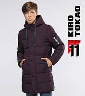11 Киро Токао   Куртка подростковая зимняя 6003-1 бордовая