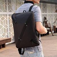 Стильный городской рюкзак NIID UNO, нид уно. Черный.