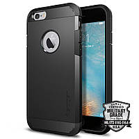 Чехол Spigen для iPhone 6s / 6 Tough Armor, Black, фото 1