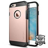 Чехол Spigen для iPhone 6s / 6 Tough Armor, Rose Gold, фото 1