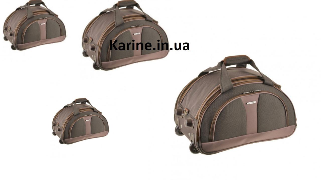 Комплект дорожных сумок на колесах 4 штуки