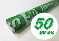 Агроволокно Agreen 50 (4,2х100) белое укрывной материал от заморозков Агрин