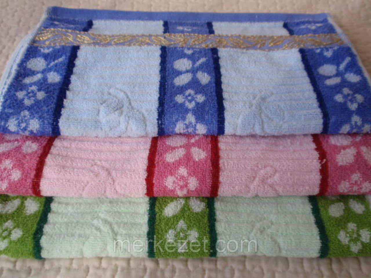 """Полотенце кухонное """"Цветение"""". Махровые и льняные полотенца. Кухонное махровое полотенце"""