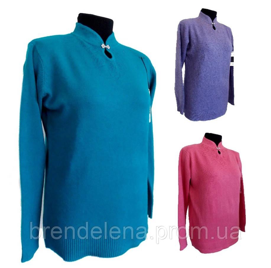 Стильные свитера женские о(52-56 универсальный батал)  52