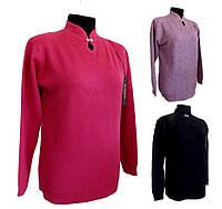 Стильные свитера женские о(52-56 универсальный батал)