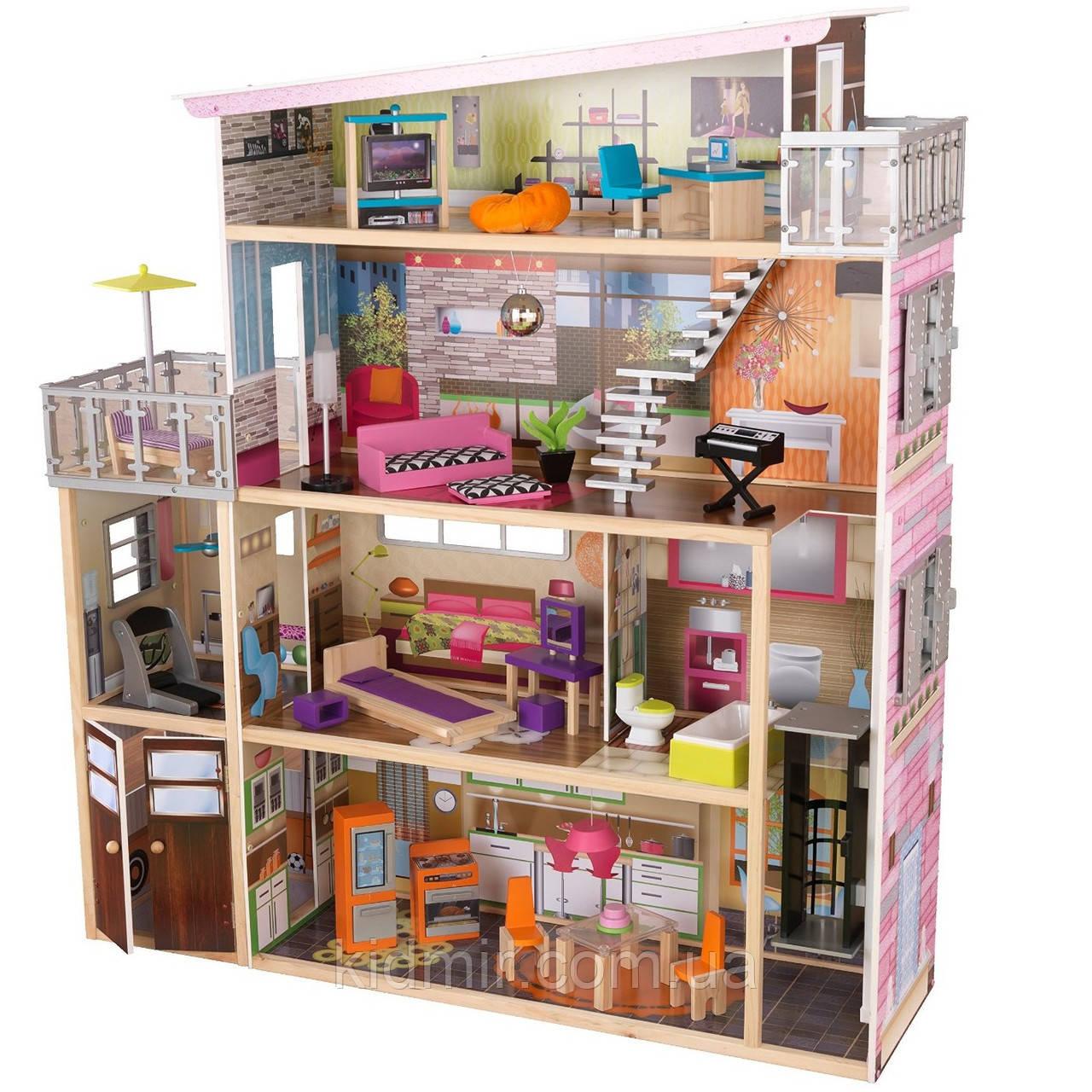 Кукольный дом с мебелью Сохо KidKraft Soho 65277