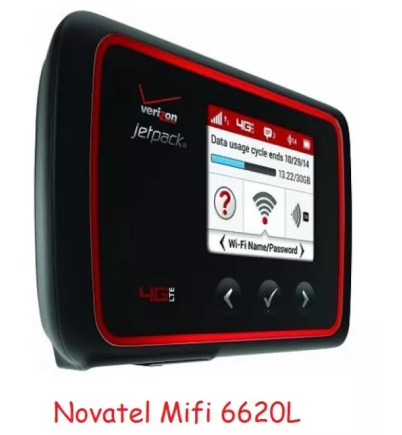 Novatel MiFi 6620L REV.B 3G/4G Wi-Fi роутер до 14,7 мб/с + PowerBank