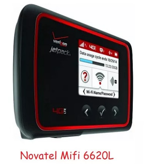 Novatel MiFi 6620L REV.B 3G/4G Wi-Fi роутер до 14,7 мб/с + PowerBank, фото 2