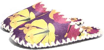 Женские фетровые тапочки 2-39 (размер 38/39)