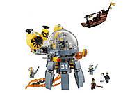 Конструктор Lepin Летающая подводная лодка Серия Ninjsaga 368 деталей 06062