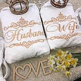 Махровий халат з написом на замовлення, фото 9