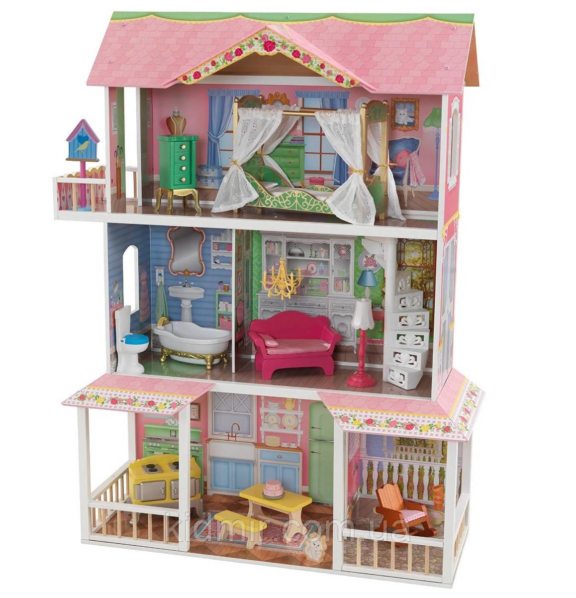 Кукольный дом с мебелью Сладкая Саванна KidKraft Sweet savannah 65851