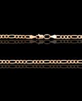 Золотая цепочка пустотел Фигаро 4,0
