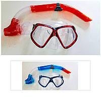 Набор для плавания маска + трубка                   , фото 1