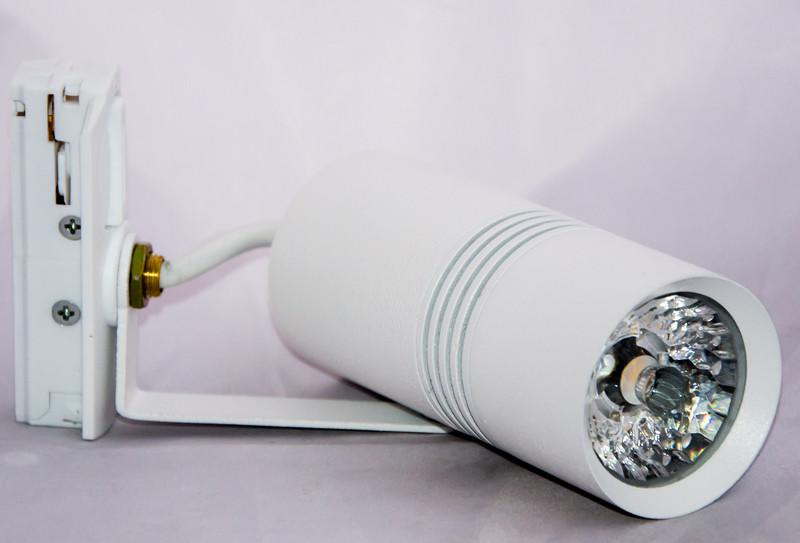 Светодиодный светильник трековый диммируемый SL-10 10W 3000K белый
