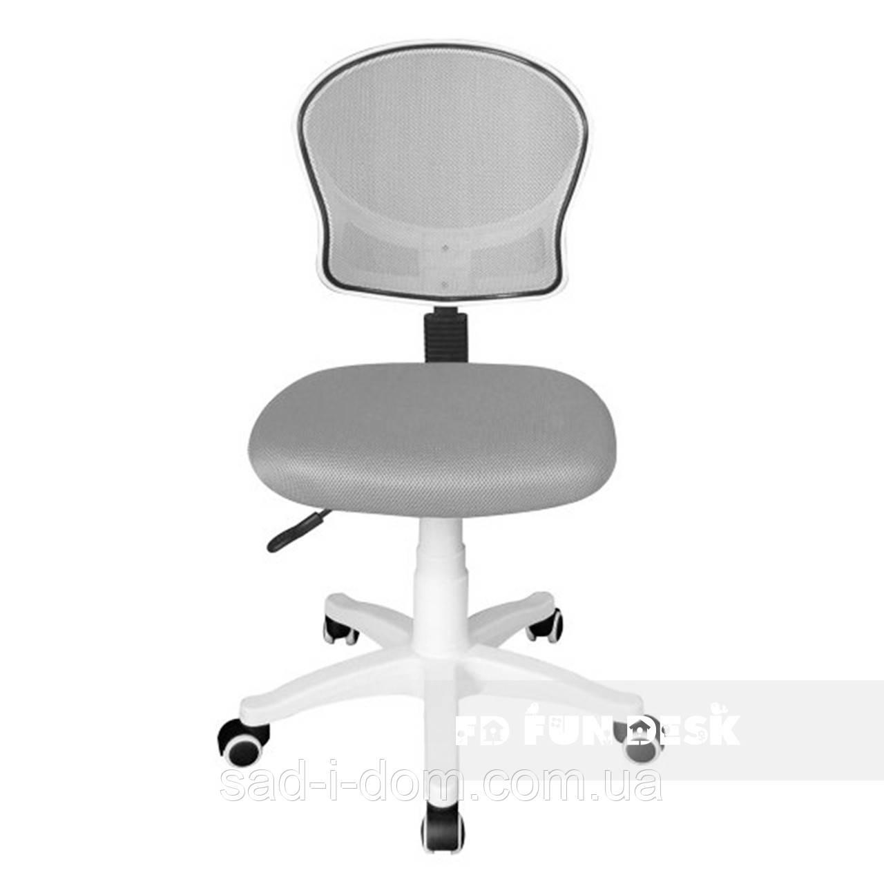 Детское компьютерное ортопедическое кресло FunDesk LST6, серое