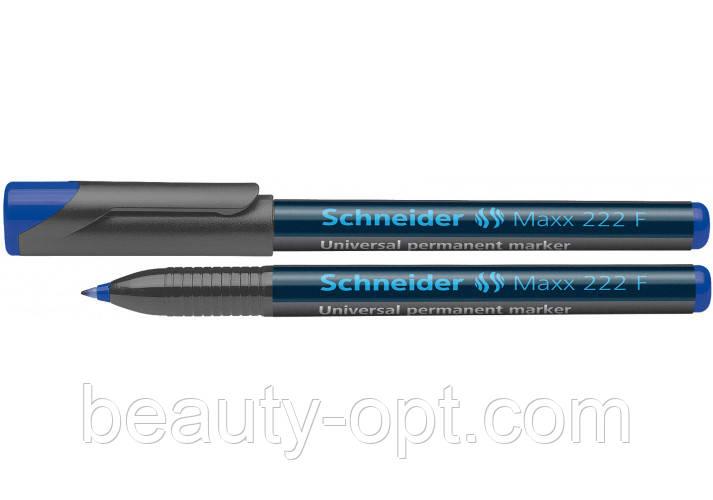 Маркер перманентный универсальный Schneider MAXX 222 синий