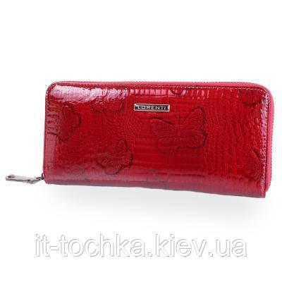 Кошелек женский кожаный lorenti (ЛОРЕНТИ) dnkl77006-rsbf-red