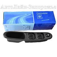Блок кнопок стеклоподъемников оригинальных ZAZ Lanos T150, ZAZ Sens Genuine на 5 клавиш (4 стекла)