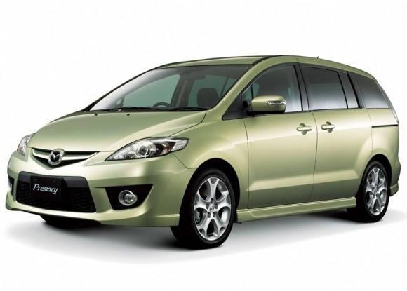Лобовое стекло на Mazda Premacy (Минивэн) (1999-2005) , фото 2