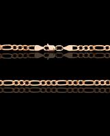 Золотая цепочка пустотел  Фигаро 21,0