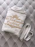 Именной халат с вышивкой, фото 2