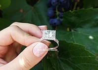 Шикарное кольцо из серебра, фото 1
