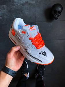 "Женские кроссовки Nike Air Max 1 SE LX ""Just Do It"" White АТ-859"