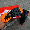 """Мужские зимние кроссовки Nike Air Huarache Acronym """"Black/Orange"""" (Найк) черные, фото 8"""