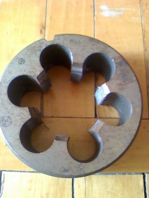 Плашка М48х5 (оснон.) для метрической резьбы ГОСТ 9740