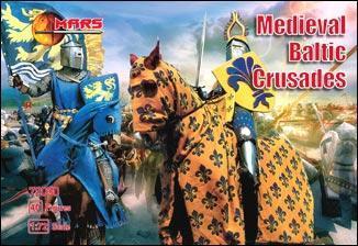 Средневековые крестовые походы Балтии.1/72 MARS 72030