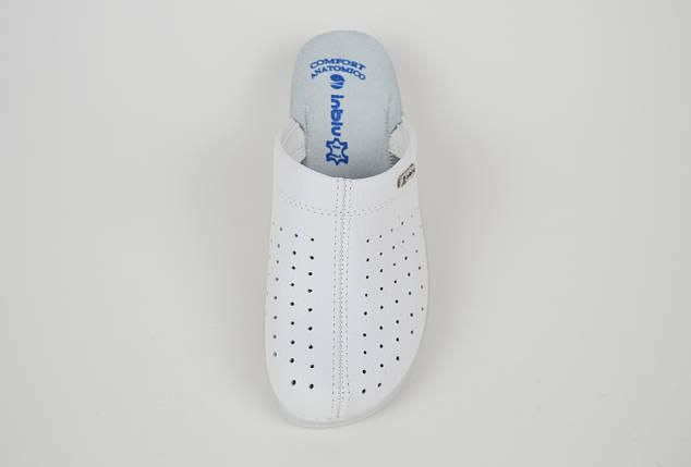 Тапочки медичні білі Inblu ESD41, фото 2