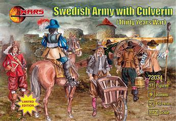 Шведская армия (Тридцатилетняя война). 1/72 MARS 72031