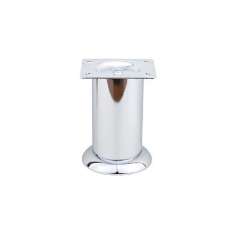Ножка мебельная нерегулируемая Sigma D-50 H-100 хром