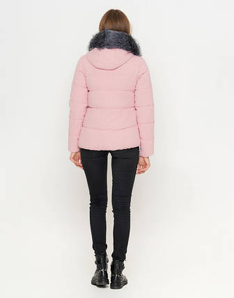 11 Киро Токао | Женская зимняя куртка 6529 пудра, фото 2
