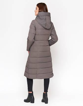11 Kiro Tokao | Зимняя женская куртка DR23 серая, фото 2